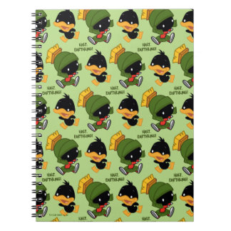 Chibi MARVIN THE MARTIAN™ & DAFFY DUCK™ Spiral Notebook