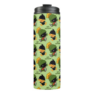 Chibi MARVIN THE MARTIAN™ & DAFFY DUCK™ Thermal Tumbler