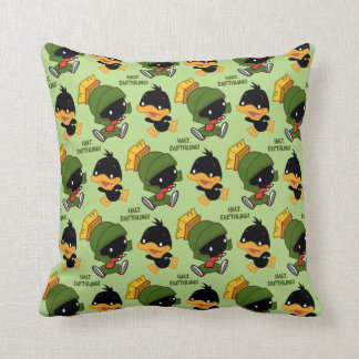 Chibi MARVIN THE MARTIAN™ & DAFFY DUCK™ Throw Pillow