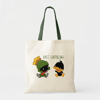 Chibi MARVIN THE MARTIAN™ & DAFFY DUCK™ Tote Bag