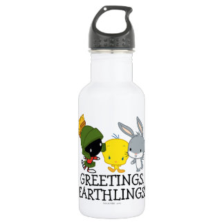 Chibi MARVIN THE MARTIAN™, TWEETY™, & BUGS BUNNY™ 532 Ml Water Bottle