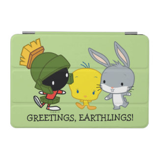 Chibi MARVIN THE MARTIAN™, TWEETY™, & BUGS BUNNY™ iPad Mini Cover