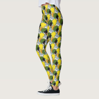 Chibi MARVIN THE MARTIAN™, TWEETY™, & BUGS BUNNY™ Leggings