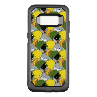 Chibi MARVIN THE MARTIAN™, TWEETY™, & BUGS BUNNY™ OtterBox Commuter Samsung Galaxy S8 Case