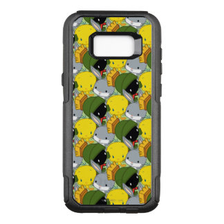 Chibi MARVIN THE MARTIAN™, TWEETY™, & BUGS BUNNY™ OtterBox Commuter Samsung Galaxy S8+ Case
