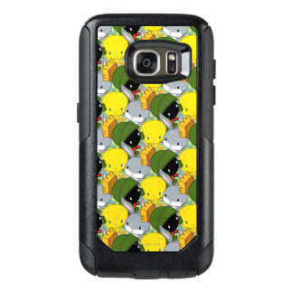 Chibi MARVIN THE MARTIAN™, TWEETY™, & BUGS BUNNY™ OtterBox Samsung Galaxy S7 Case