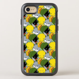 Chibi MARVIN THE MARTIAN™, TWEETY™, & BUGS BUNNY™ OtterBox Symmetry iPhone 8/7 Case