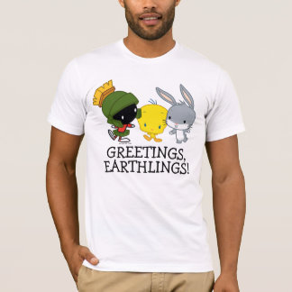 Chibi MARVIN THE MARTIAN™, TWEETY™, & BUGS BUNNY™ T-Shirt
