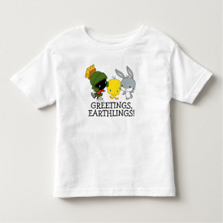 Chibi MARVIN THE MARTIAN™, TWEETY™, & BUGS BUNNY™ Toddler T-shirt