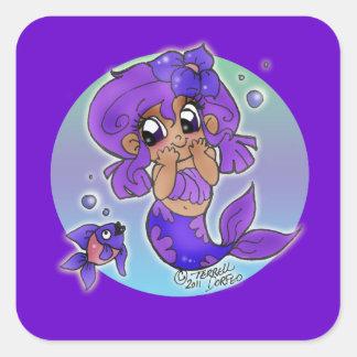 Chibi Mermaid Sticker