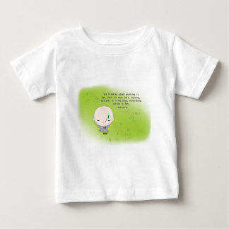 Chibi Monk - Zen Quote Baseball Cap Baby T-Shirt