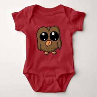 Chibi Owl Clothes Baby Bodysuit