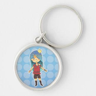 Chibi princess keychain
