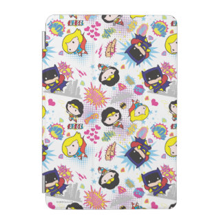 Chibi Super Heroine Pattern iPad Mini Cover