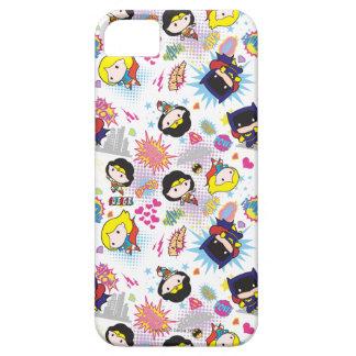 Chibi Super Heroine Pattern iPhone 5 Cases