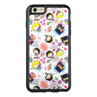 Chibi Super Heroine Pattern OtterBox iPhone 6/6s Plus Case