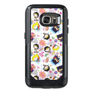 Chibi Super Heroine Pattern OtterBox Samsung Galaxy S7 Case