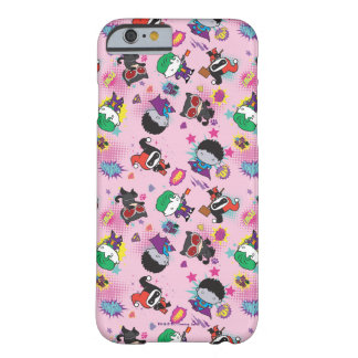 Chibi Super Villain Action Pattern Barely There iPhone 6 Case