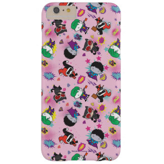 Chibi Super Villain Action Pattern Barely There iPhone 6 Plus Case