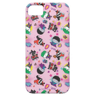 Chibi Super Villain Action Pattern iPhone 5 Covers