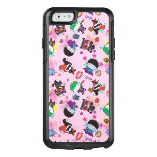 Chibi Super Villain Action Pattern OtterBox iPhone 6/6s Case