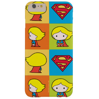 Chibi Supergirl Character Turnaround Barely There iPhone 6 Plus Case