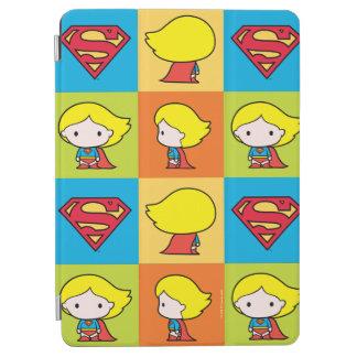 Chibi Supergirl Character Turnaround iPad Air Cover