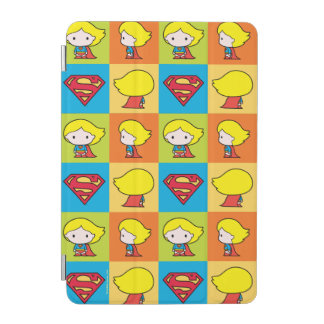 Chibi Supergirl Character Turnaround iPad Mini Cover