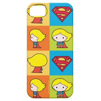 Chibi Supergirl Character Turnaround iPhone 5 Covers