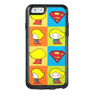 Chibi Supergirl Character Turnaround OtterBox iPhone 6/6s Case