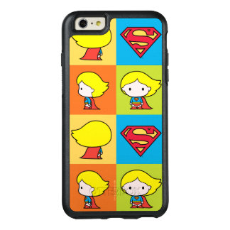 Chibi Supergirl Character Turnaround OtterBox iPhone 6/6s Plus Case