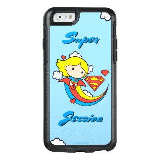 Chibi Supergirl Flying Rainbow OtterBox iPhone 6/6s Case