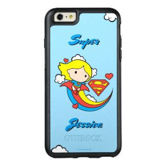 Chibi Supergirl Flying Rainbow OtterBox iPhone 6/6s Plus Case