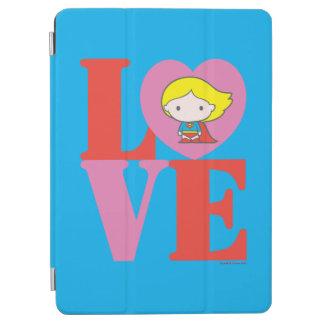 Chibi Supergirl LOVE iPad Air Cover