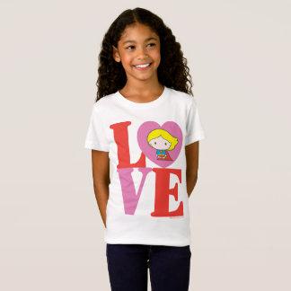 Chibi Supergirl LOVE T-Shirt