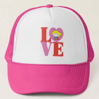 Chibi Supergirl LOVE Trucker Hat