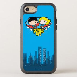 Chibi Superman & Chibi Supergirl Power Up! OtterBox Symmetry iPhone 8/7 Case