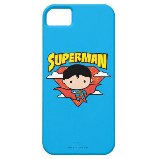 Chibi Superman Polka Dot Shield and Name Case For The iPhone 5