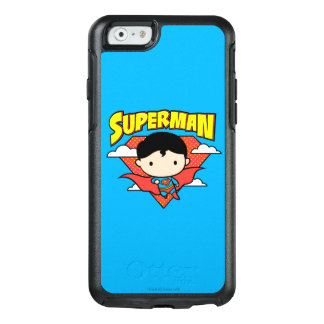 Chibi Superman Polka Dot Shield and Name OtterBox iPhone 6/6s Case
