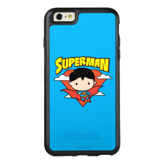 Chibi Superman Polka Dot Shield and Name OtterBox iPhone 6/6s Plus Case