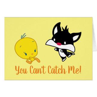 Chibi SYLVESTER™ Chasing TWEETY™ Card