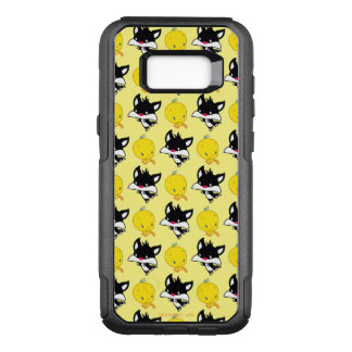 Chibi SYLVESTER™ Chasing TWEETY™ OtterBox Commuter Samsung Galaxy S8+ Case