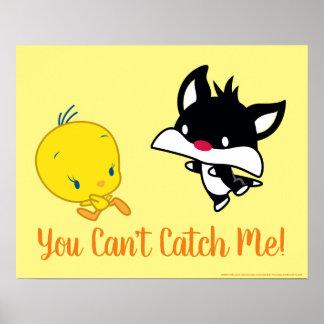 Chibi SYLVESTER™ Chasing TWEETY™ Poster