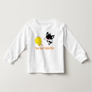Chibi SYLVESTER™ Chasing TWEETY™ Toddler T-shirt
