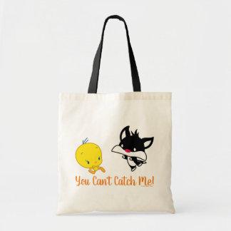 Chibi SYLVESTER™ Chasing TWEETY™ Tote Bag
