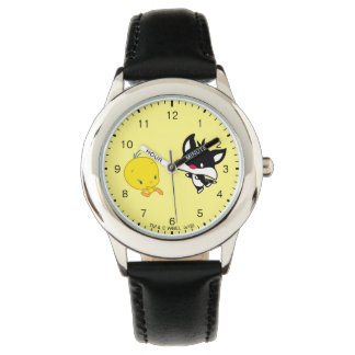 Chibi SYLVESTER™ Chasing TWEETY™ Watch