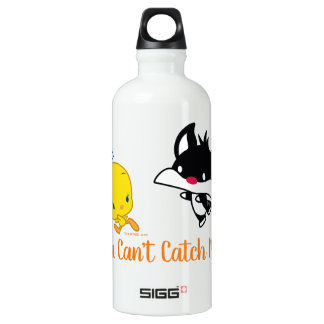 Chibi SYLVESTER™ Chasing TWEETY™ Water Bottle
