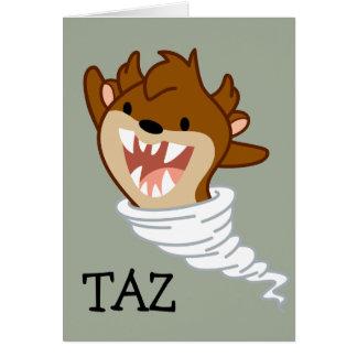 Chibi Tornado TAZ™ Card