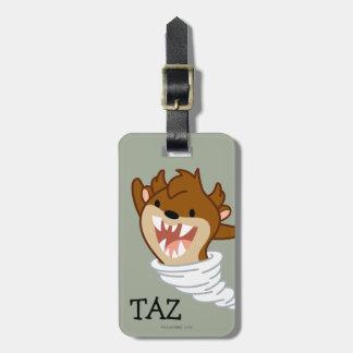 Chibi Tornado TAZ™ Luggage Tag