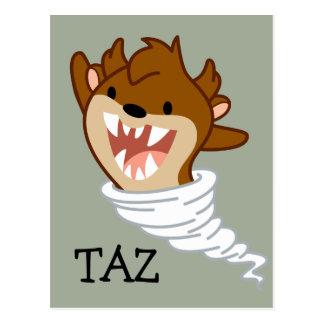 Chibi Tornado TAZ™ Postcard